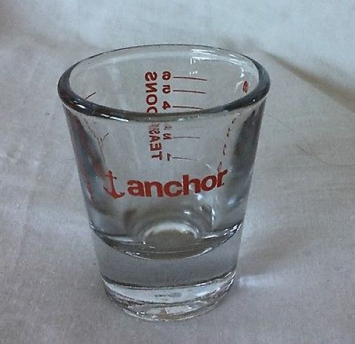 Shot Measure Glasses 29ml 6개set